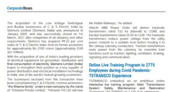 Former Founders and promoters of C&S Electric India to grow and transform their retained businesses under Trimaster